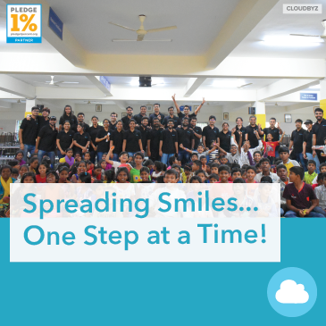 Spreading smiles one step at a time !!!